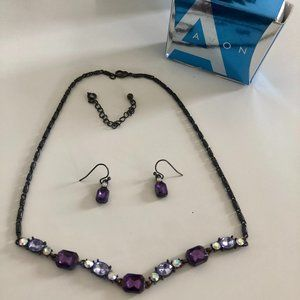 Avon Necklace / Earring Set